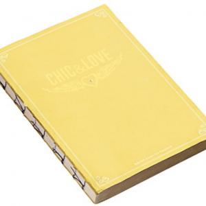 *MIQUEL RIUS Chic&Love Notebook Vintage 100014 yellow-0