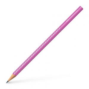 FABER CASTELL Olovka Grip HB Sparkle 118229 pink-0