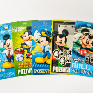 PARTY Mickey Mouse pozivnica 319700-0