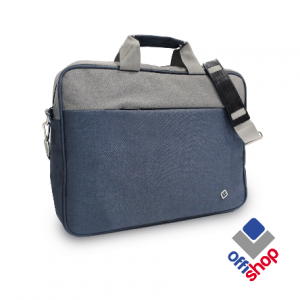 OFFICE torba Casual Blue-Grey OF191-0