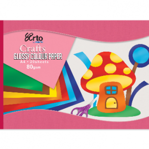 CAMPAP Crafts 36652 Glossy Colour Paper-0