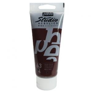Pebeo Acrylics Studio Opaque 837063 terra rossa-0