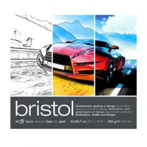 Fabriano Bristol 250g 21x29/20L 19002129-0