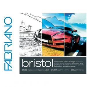 Fabriano bristol 250g 29.7x42/20L 19002942-0