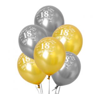 PARTY Baloni Happy 18st birthday 710695-0