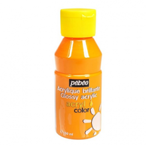 Pebeo Acryl Color Glossy 3741-03 yellow gold-0