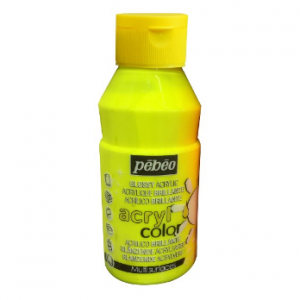 Pebeo Acryl Color Pearl 3741-60 fluo yellow-0