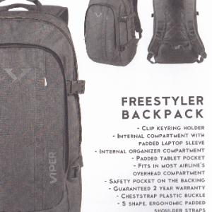 TARGET Viper Freestyler Drizzle ranac 26367-0