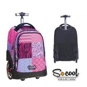 *Scool Zebra torba na točkiće SC767-0