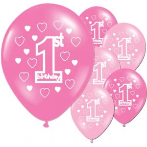 PARTY Baloni Happy 1st birthday 303919-0