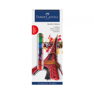 Faber Castell Acrylic colours 1/12 169501-0