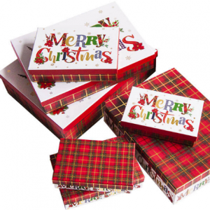 -Kutija Merry Christmas 25179-3-0