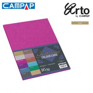 CAMPAP Crafts 36635 Colour Glitter Card-0