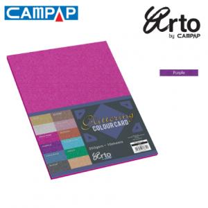 CAMPAP Crafts 36638 Colour Glitter Card-0