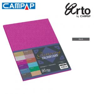 CAMPAP Crafts 36640 Colour Glitter Card-0