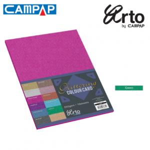 CAMPAP Crafts 36645 Colour Glitter Card-0