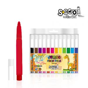 SCOOL flomasteri 1/12 Jumbo SC595-0