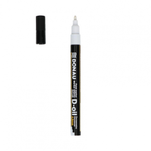DONAU Paint marker D-oil 7368001PL-09 white-0