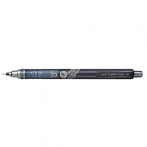 UNI Mechanical Pencil 0.5 Kuru Toga M5-450T grey-0