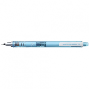 UNI Mechanical Pencil 0.5 Kuru Toga M5-450T blue-0